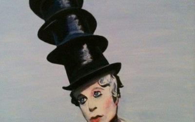 Damen med hattene